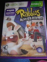 NEW XBOX 360 Rabbids Alive & Kicking game in Manhattan, Kansas
