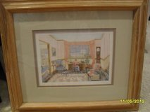 """Two Pictures of a Country Home """"The Admirals Letter"""" and """"Country Crystal-Pane"""" in Oswego, Illinois"""