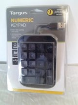 TARGUS LAPTOP NUMERIC KEYPAD/ USB in Alamogordo, New Mexico