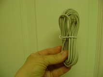 2 Telephone Cords - One Used -- One New in Kingwood, Texas