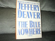 "New Jeffery Deaver ""The Blue Nowhere"" in Cherry Point, North Carolina"