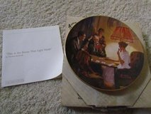 "Norman Rockwell Plate 8 1/2"" in Naperville, Illinois"