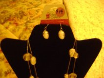 Charming Charlie's Necklace & Matching Earrings - New Set in Kingwood, Texas